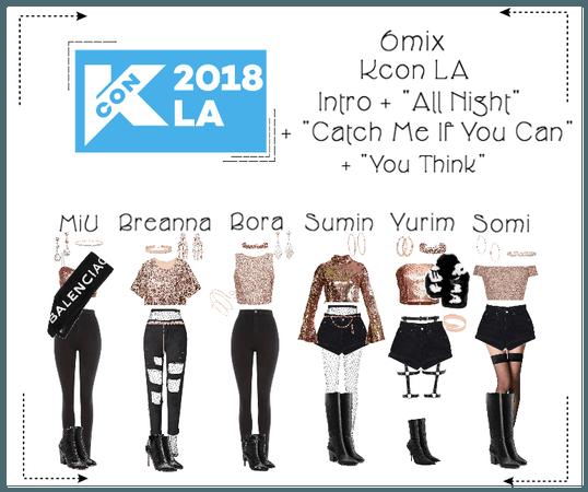 《6mix》Kcon LA