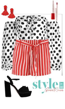 Polka Dot & Strips