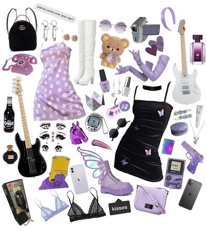 purple is punk... isn't it?