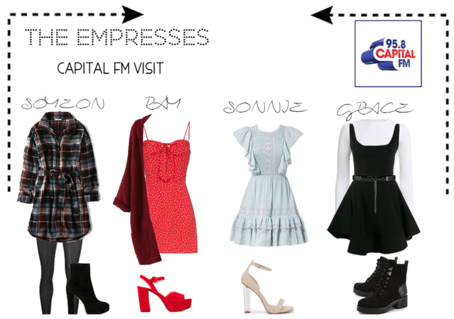 [THE EMPRESSES] CAPITAL FM VISIT