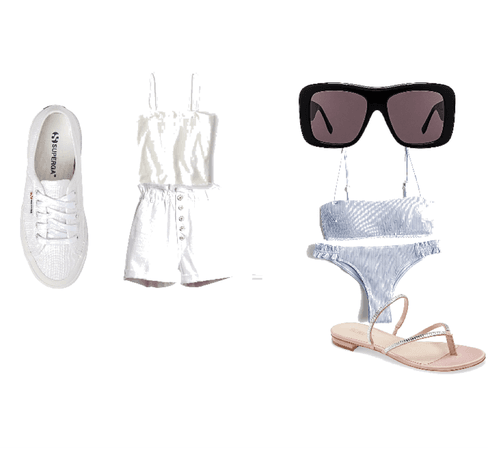 the swim and cool outside outfit