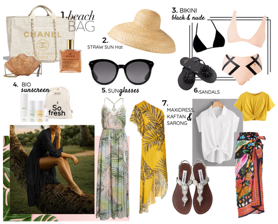 MALDIVES TRAVEL OUTFIT