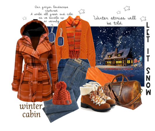 Cozy cabin winter outfit