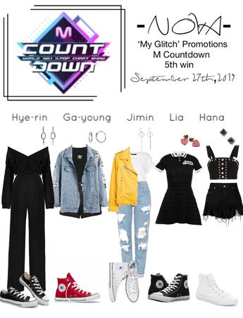 -NOVA- 'My Glitch' M Countdown Stage