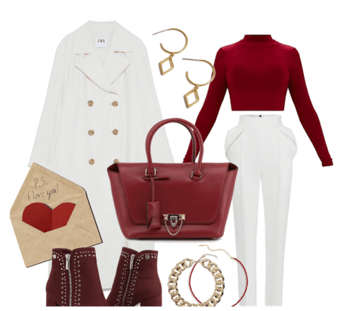 Valentines Outfit Idea 2