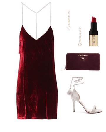 Christmas cocktail party outfit