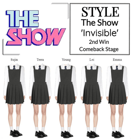 STYLE The Show 'Invisible' Comeback Stage