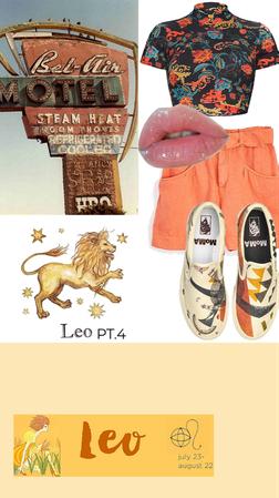 zodiac signs pt. 4 Leo ♌️