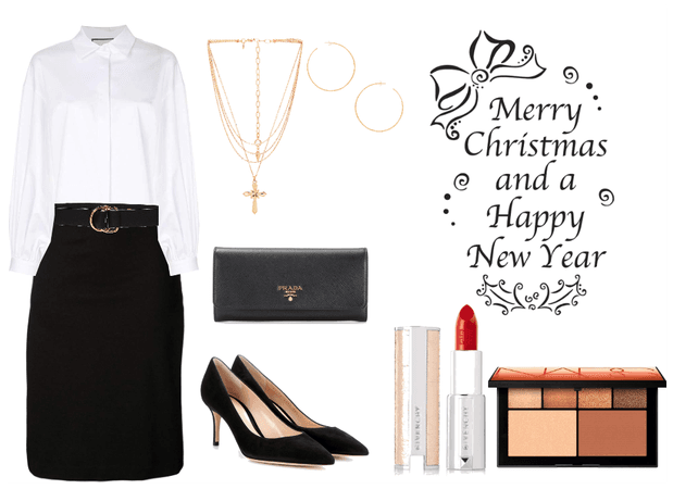 Formal outfit for Christmas <3