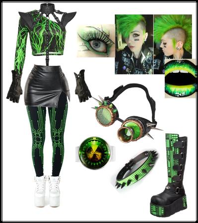 Random Cyberpunk Outfit