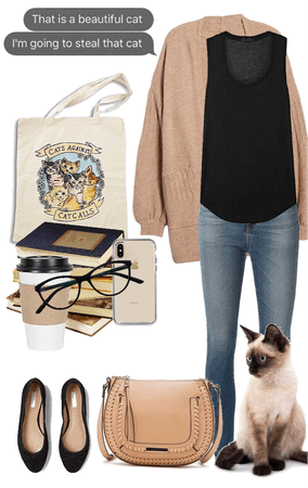 Stylish Cat Lady