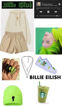 Ethereal Beauty Billie Eilish