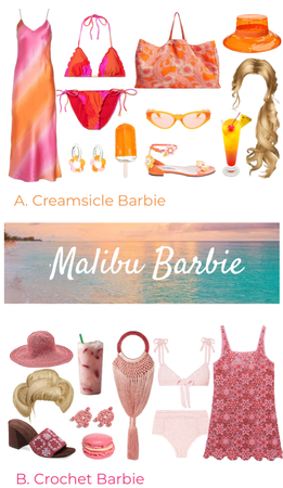 Vote Your Favorite Malibu Barbie Pack In The Comments