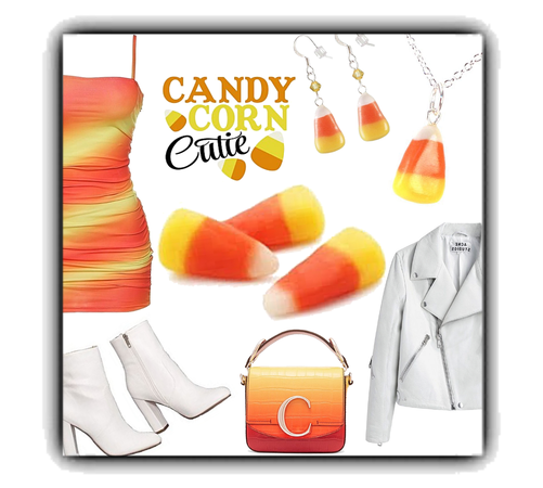 candy corn couture... 🤍💛🧡