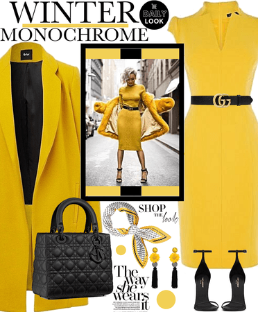 Winter Monochrome - Yellow