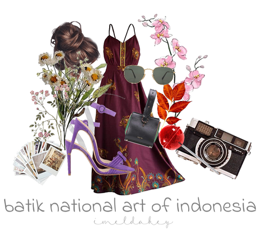 batik national art of indonesia