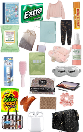 What's in my Bag: Airplane Edition