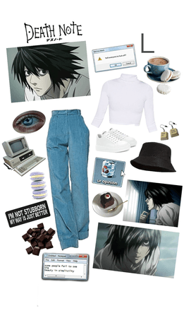 Anime Inspired ~ L, Death Note