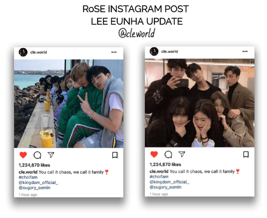 {RoSE} [CLE] Official Instagram Post