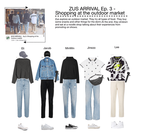 ZUS ARRIVAL Ep.3 - Shopping at an outdoor market