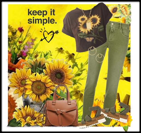 Keep It Sunflower Simple