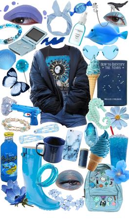 feeling ocean blue