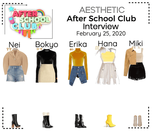 AESTHETIC (미적) [AFTER SCHOOL CLUB]