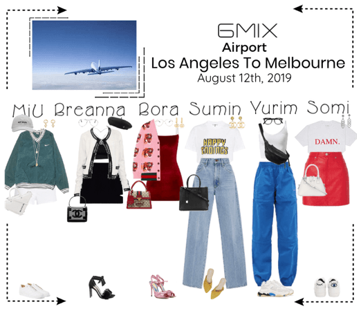 《6mix》Airport | Los Angeles To Melbourne
