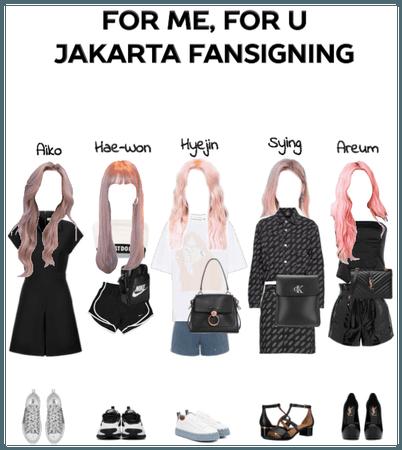 For Me, For U Jakarta Fansigning