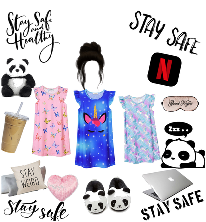 Stay safe and stay ome outfit