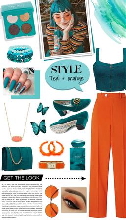 Style: Teal & orange