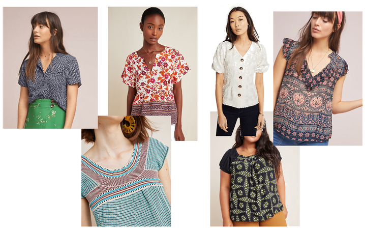 Tops/Blouses from Anthro