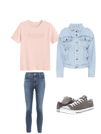 casual and simple outfit