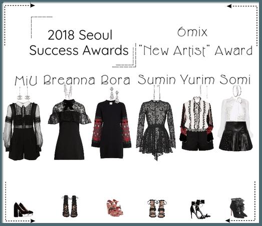 《6mix》2018 Seoul Success Awards