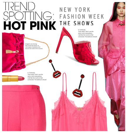 NYFW Trend: Hot Pink