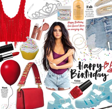Celebrate her| Selena Gomez bday