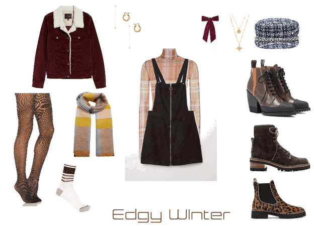 edgy wintertime