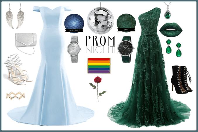prom queen and queen