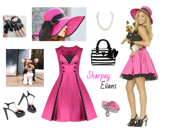 Sharpay Evans outfit - Disneybounding