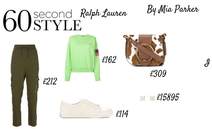 60 second style RALPH LAUREN
