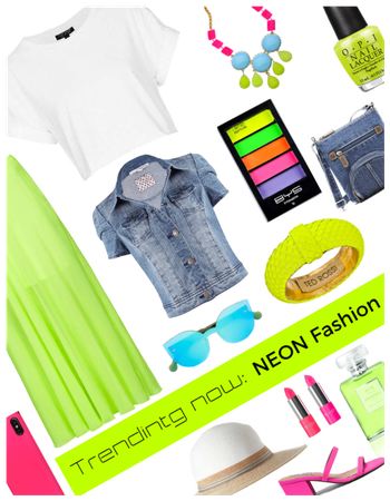 Trending Now: Neon Fashion