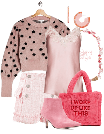Pretty in Pink (Curvy Girl Style)