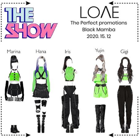 "LOΛE [러브]_ The Show ""Black Mamba"" (2020. 15. 12)"