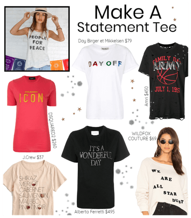 Make A Statement Tee