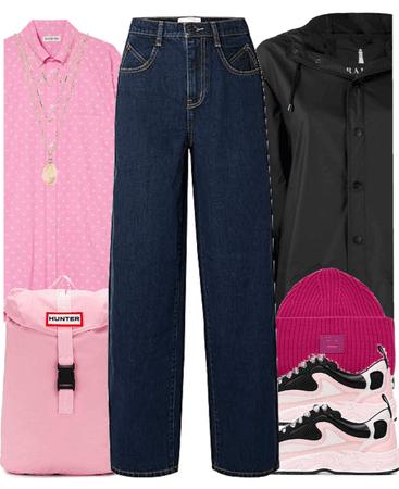 School wear (Pink)