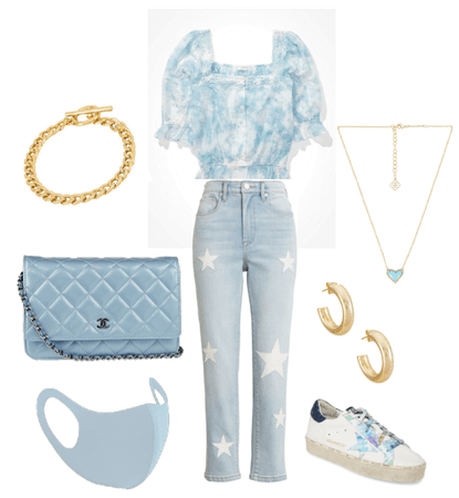 blue dinner/brunch fit:)