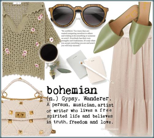 bohemian knit