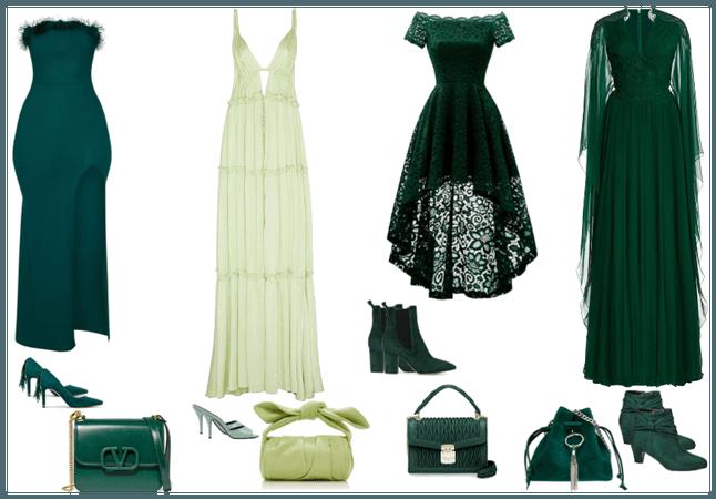 Dress Options (Green&Olive)