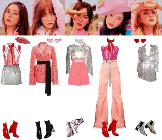 Red Velvet - Umpah Umpah inspired stage outfit