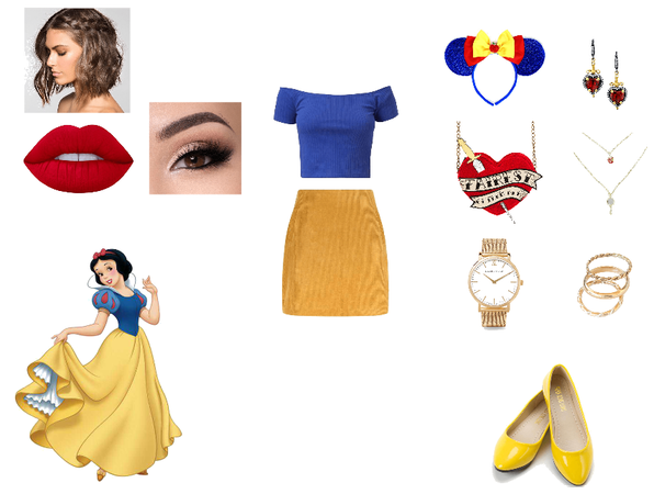 Disney Bound Snow White